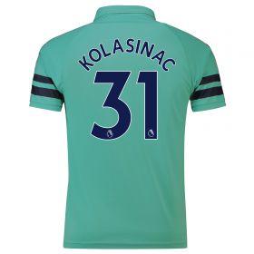 Arsenal Third Shirt 2018-19 - Outsize with Kolasinac 31 printing
