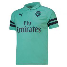 Arsenal Third Shirt 2018-19 - Outsize with Monreal 18 printing