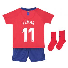 Atlético de Madrid Home Stadium Kit 2018-19- Infants with Lemar 11 printing