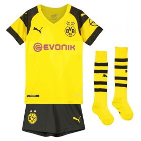 BVB Home Minikit 2018-19 with Hakimi 5 printing