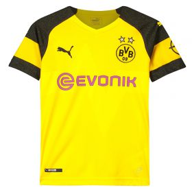 BVB Home Shirt 2018-19 - Kids with Hakimi 5 printing