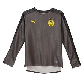 BVB Training Stadium Jersey - Dark Grey - Long Sleeve - Kids