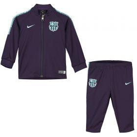 Barcelona Squad Knit Tracksuit - Purple - Infants
