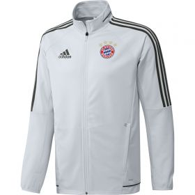 Bayern Munich UCL Training Track Jacket - White