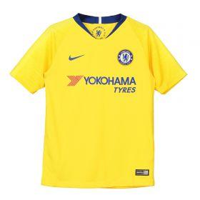 Chelsea Away Stadium Shirt 2018-19 - Kids with Hazard 10 printing