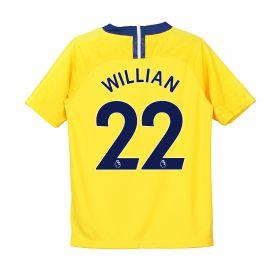 Chelsea Away Stadium Shirt 2018-19 - Kids with Willian 22 printing