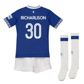 Everton Home Cup Infant Kit 2018-19 with Richarlison 30 printing