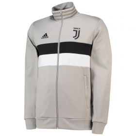Juventus 3 Stripe Track Top - Light Green