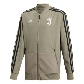 Juventus Training Woven Presentation Jacket - Green - Kids