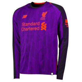 Liverpool Away Shirt 2018-19 - Long Sleeve with Mané 19 printing