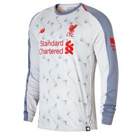 Liverpool Third Shirt 2018-19 - Long Sleeve with Mané 19 printing