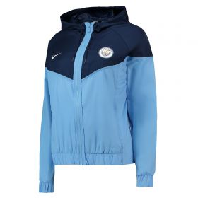 Manchester City Authentic Windrunner - Light Blue - Womens