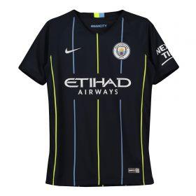 Manchester City Away Stadium Shirt 2018-19 - Kids with Otamendi 30 printing