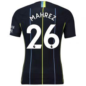Manchester City Away Vapor Match Shirt 2018-19 with Mahrez 26 printing