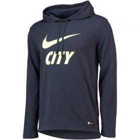 Manchester City Core Hoodie - Dark Blue