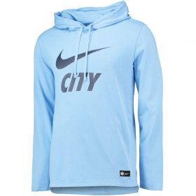 Manchester City Core Hoodie - Light Blue