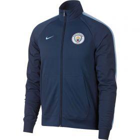 Manchester City Core Trainer Jacket - Dark Blue
