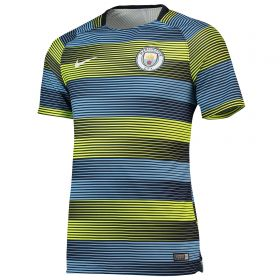 Manchester City Pre Match Top - Yellow