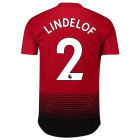 Manchester United Home Adi Zero Shirt 2018-19 with Lindelof 2 printing