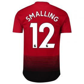 Manchester United Home Adi Zero Shirt 2018-19 with Smalling 12 printing