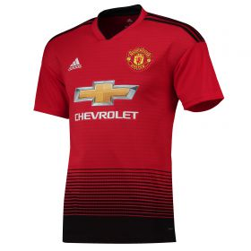 Manchester United Home Shirt 2018-19 with Young 18 printing