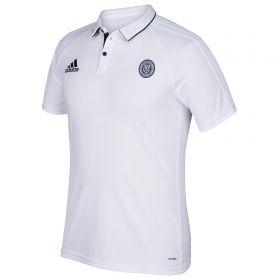 New York City FC Coaches Polo - White