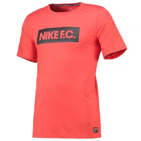 Nike FC Seasonal Block T-Shirt - Red