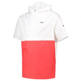 Nike FC Short Sleeved Hooded Jacket - White