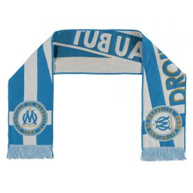 Olympique de Marseille Droit Au But Scarf - Blue - Adult