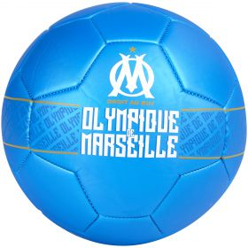Olympique de Marseille Metallic Football - Size 5