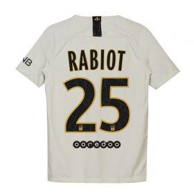 Paris Saint-Germain Away Stadium Shirt 2018-19 - Kids with Rabiot 25 printing