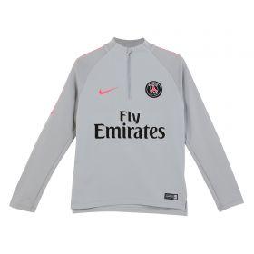 Paris Saint-Germain Squad Drill Top - Grey - Kids