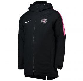 Paris Saint-Germain Squad Padded Jacket - Black