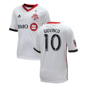 Toronto FC Away Shirt 2018 - Kids with Giovinco 10 printing