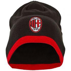 AC Milan Reversible Beanie - Black