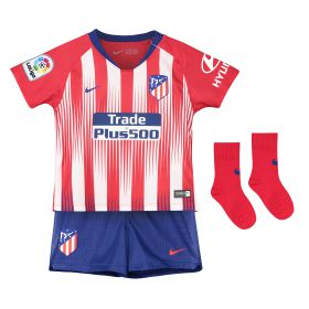Atlético de Madrid Home Stadium Kit 2018-19- Infants with Lucas 19 printing