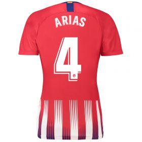 Atlético de Madrid Home Stadium Shirt 2018-19 - Womens with Arias 4 printing