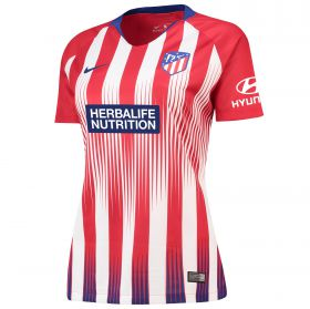 Atlético de Madrid Home Stadium Shirt 2018-19 - Womens with Gelson 18 printing