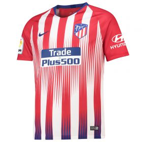 Atlético de Madrid Home Stadium Shirt 2018-19 with Gelson 18 printing