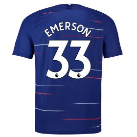 Chelsea Home Vapor Match Shirt 2018-19 - Kids with Emerson 33 printing