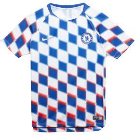 Chelsea Pre-Match Top - White - Kids