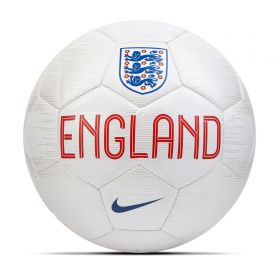 England Prestige Football - White - Size 5