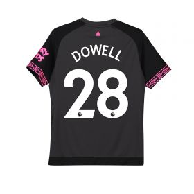 Everton Away Shirt 2018-19 - Kids with Dowell 28 printing