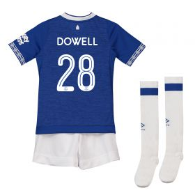 Everton Home Cup Infant Kit 2018-19 with Dowell 28 printing