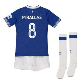 Everton Home Cup Infant Kit 2018-19 with Mirallas 8 printing