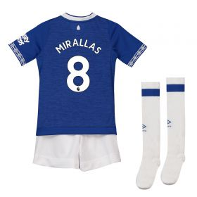 Everton Home Infant Kit 2018-19 with Mirallas 8 printing