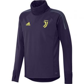 Juventus UCL Training Warm Top - Dark Blue