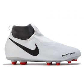 Nike Phantom Vision Academy Dynamic Fit Multi-Ground Football Boots - Grey - Kids