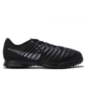 Nike TiempoX Legend 7 Academy Astroturf Trainers - Black - Kids