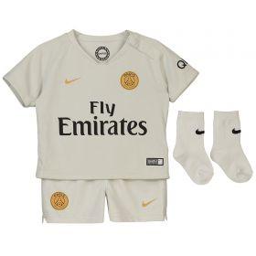 Paris Saint-Germain Away Stadium Kit 2018-19 - Infants with Buffon 1 printing